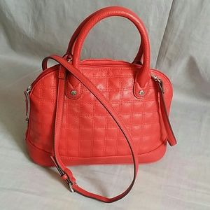Tignanello Red Purse Genuine leather Medium